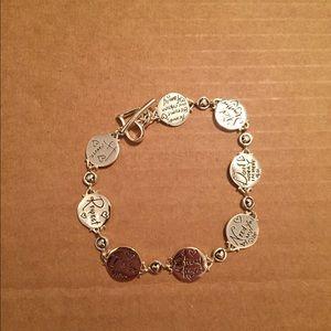 Sterling Silver Best Friend Bracelet